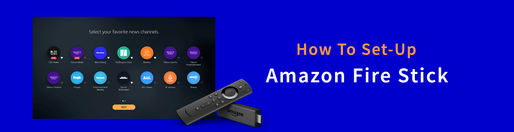 How To Set Up Amazon Fire Stick