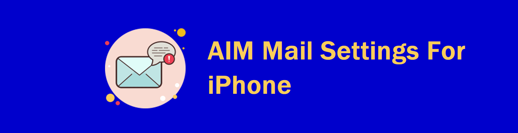 AIM Mail On iPhone,