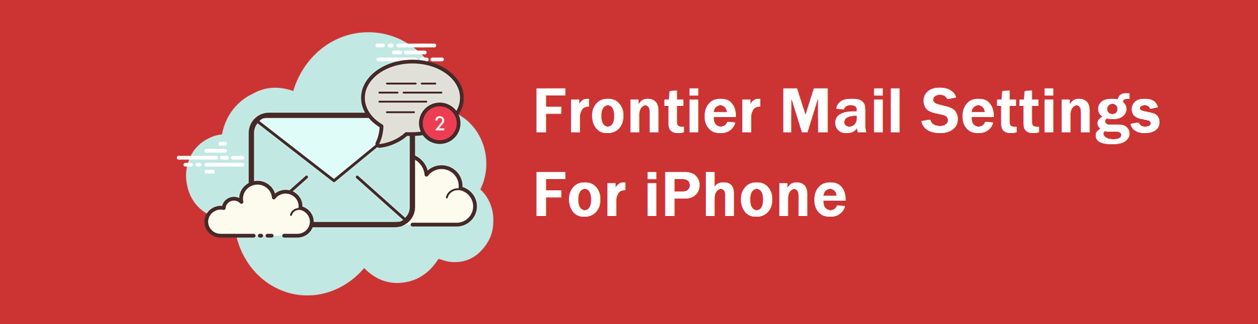 Frontier Mail Settings For iPhone