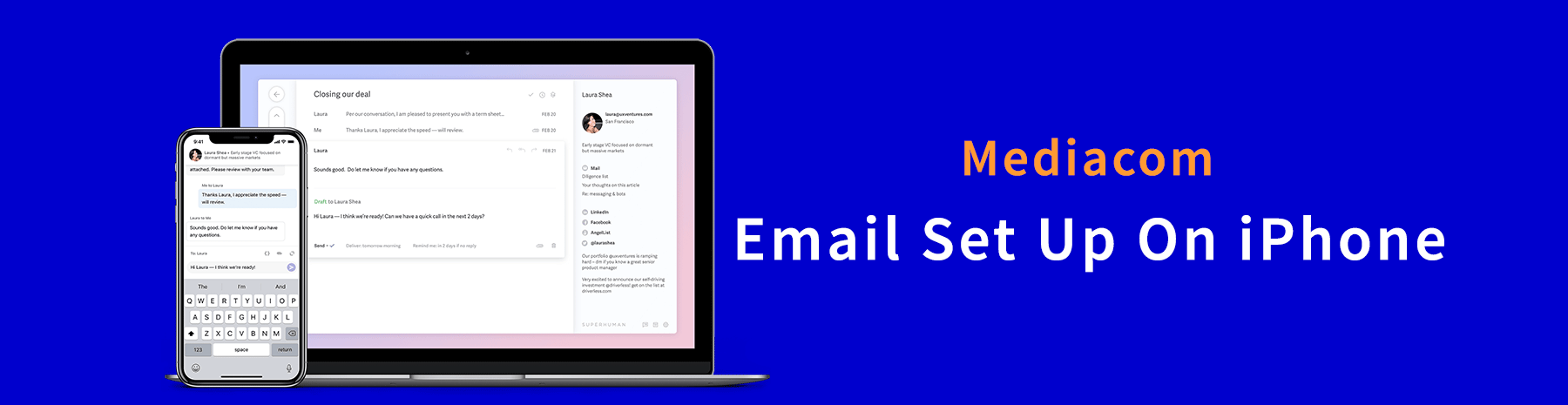 How-To-Set-Up-Mediacom-Email-On-iPhone-Mediacom-Email
