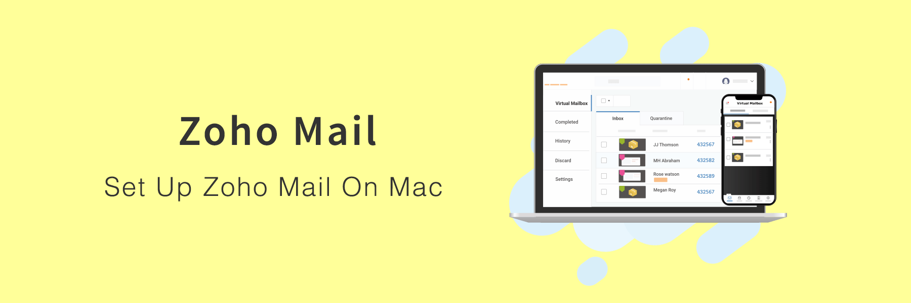 How To Set Up Zoho Mail On Mac