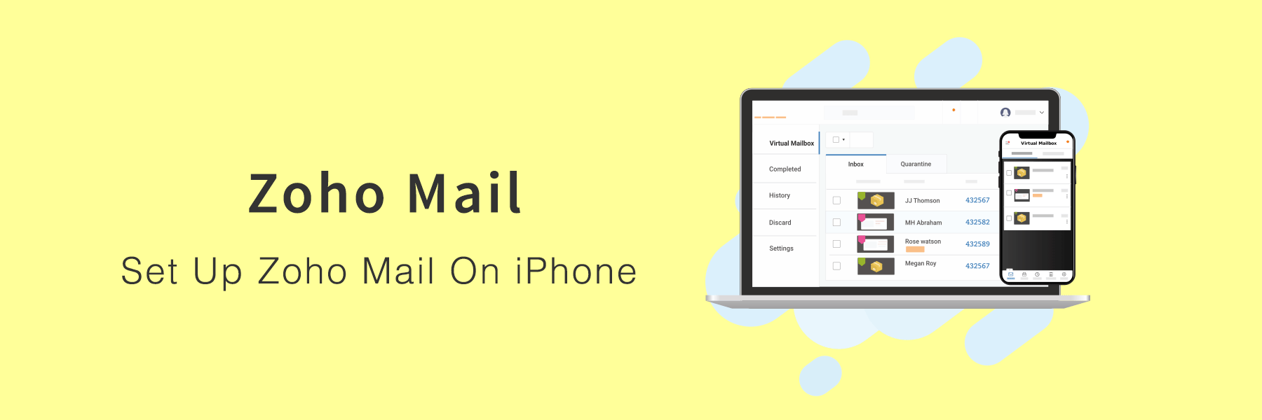 How To Set Up Zoho Mail On iPhone