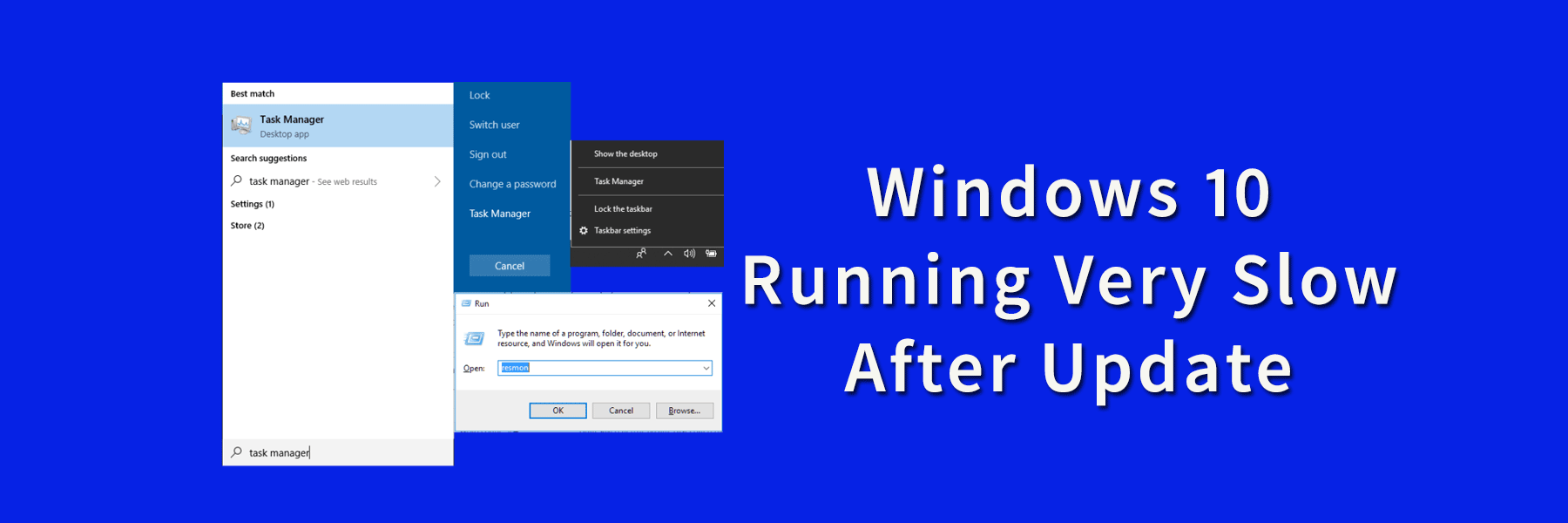 Fix Windows 10 Running Very Slow After Update
